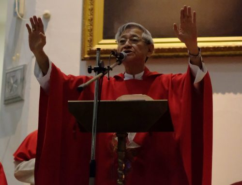 Archbishop Emeritus John Ha to Confirmands: You are now Witnesses of Christ