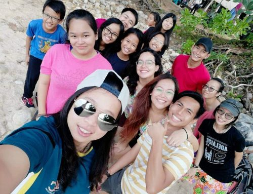 Bonding time for Emmaus Youths at Damai Beach Resort
