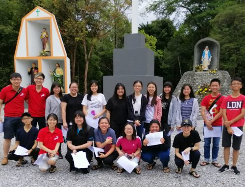 Alpha Weekend Away retreat for 19 youths from Chinese Youth Ministry