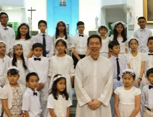52 Communicants told to treasure Jesus Christ everyday of their lives