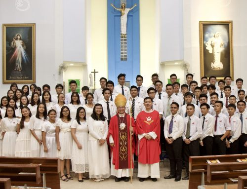 Confirmands told to cherish the gifts of the Holy Spirit