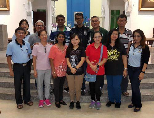 Kuala Lumpur pilgrims attend Emmaus Community's Prayer Meeting
