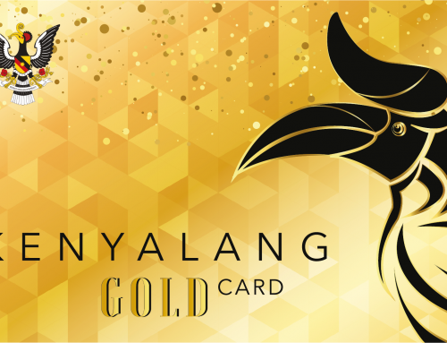 SAPAM: Collection of Kenyalang Gold Cards