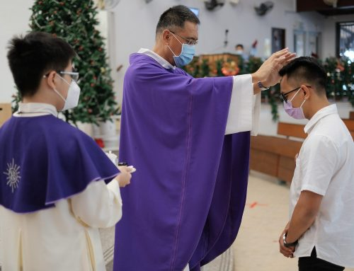 Catechumens complete Rite of Christian Initiation